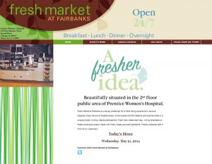 Fresh Market At Fairbanks Home
