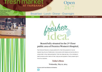 Fresh Market At Fairbanks