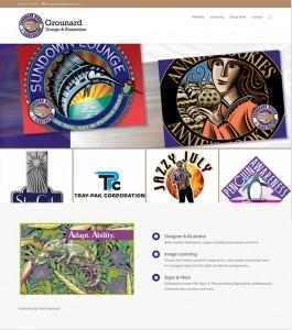 Grounard Design & Illustration Home Page
